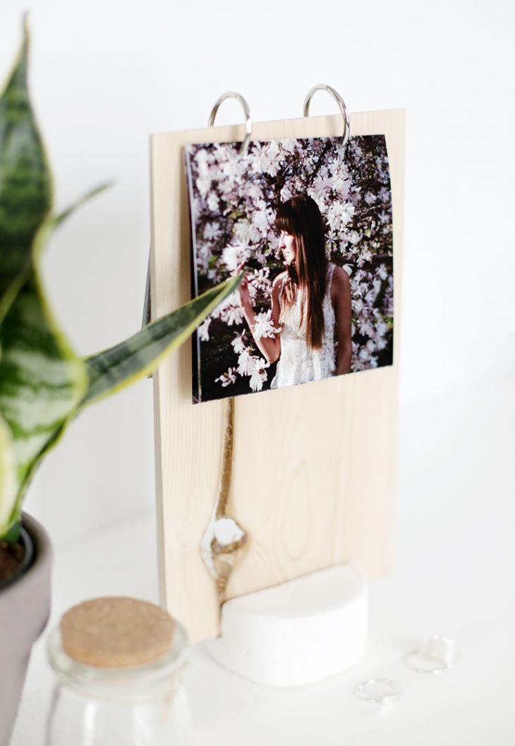 DIY Prayer Photo Display @themerrythought