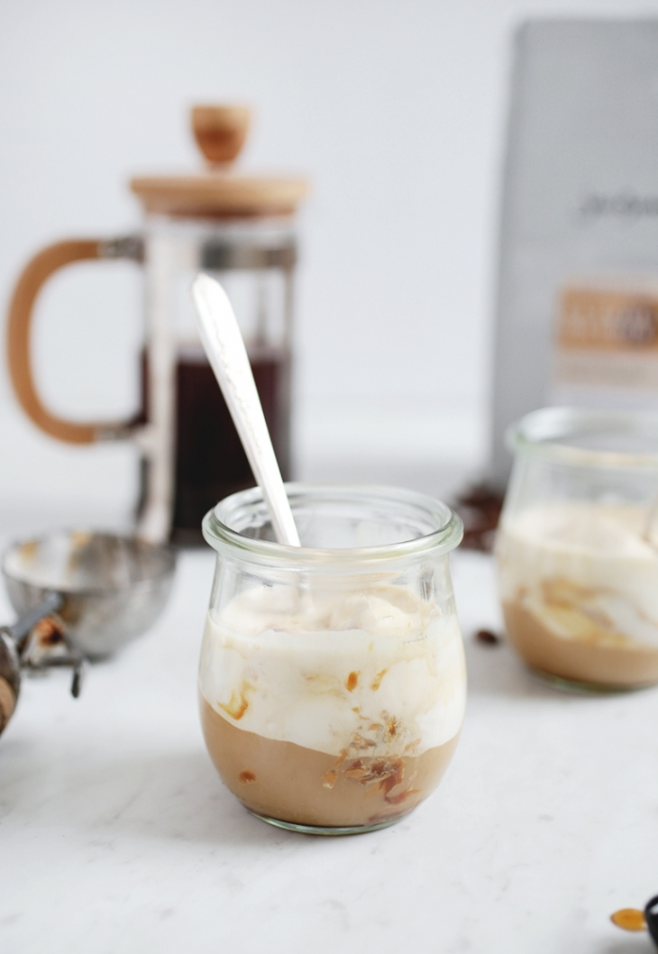Gin Maple Affogato