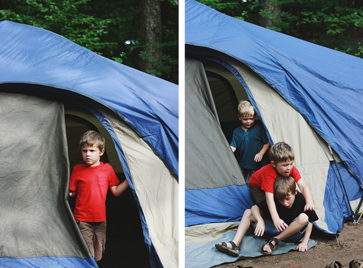 Tips for Camping with Kids @themerrythought