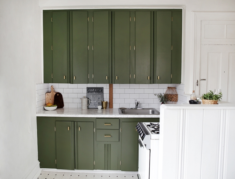 How to Paint Kitchen Cabinets - The Merrythought Kitchen Cabinets With Metal Detail on metal kitchen baskets, metal kitchen shelves, metal furniture, metal faucets, metal kitchen counters, metal kitchen pantry, metal gas fireplaces, metal tile design, metal stairs, metal cabinet store, metal kitchen hardware, metal doors, metal kitchen drawers, metal kitchen lamps, pantry cabinets, metal counter tops, metal kitchen hutch, metal tool organizer, metal kitchen closet, metal kitchen bench,