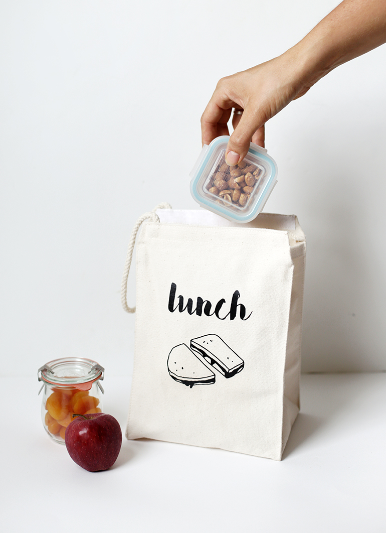 Diy Lunch Bag With Printable The Merrythought