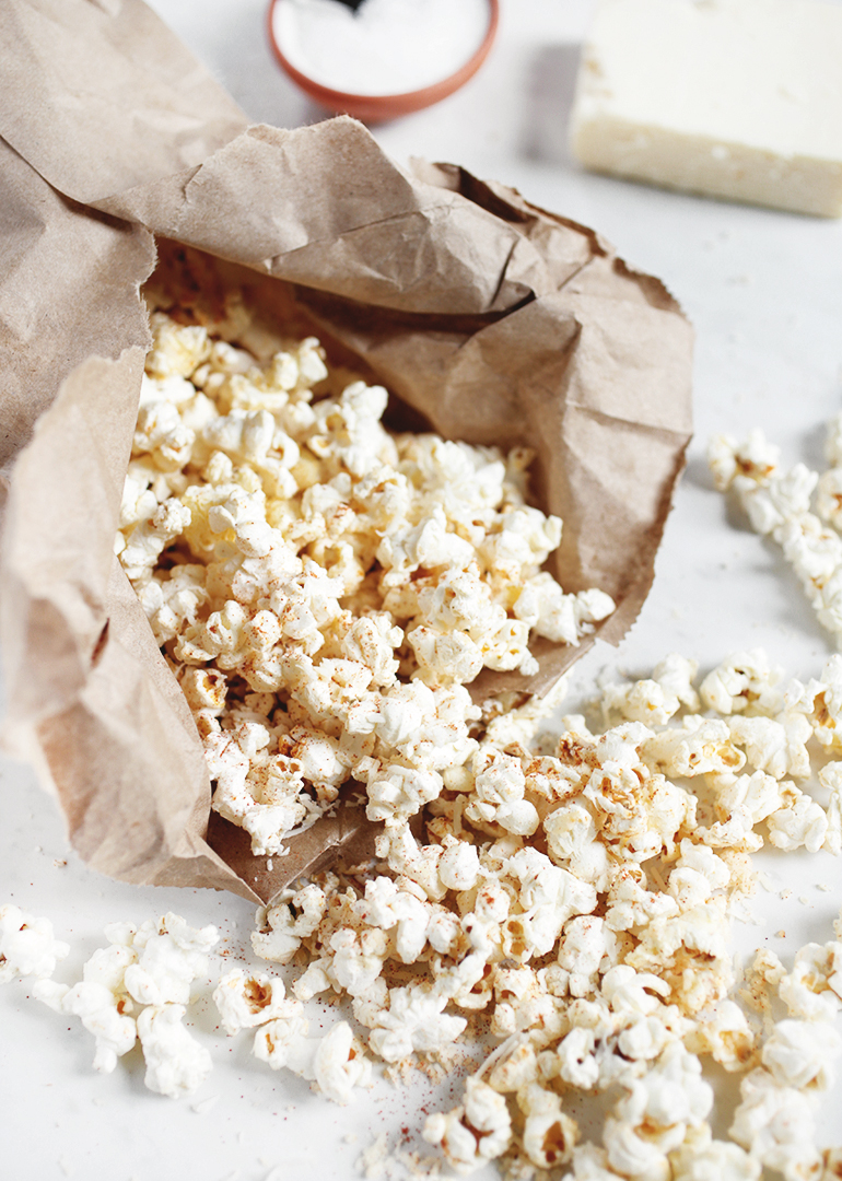 Spicy White Cheddar Popcorn
