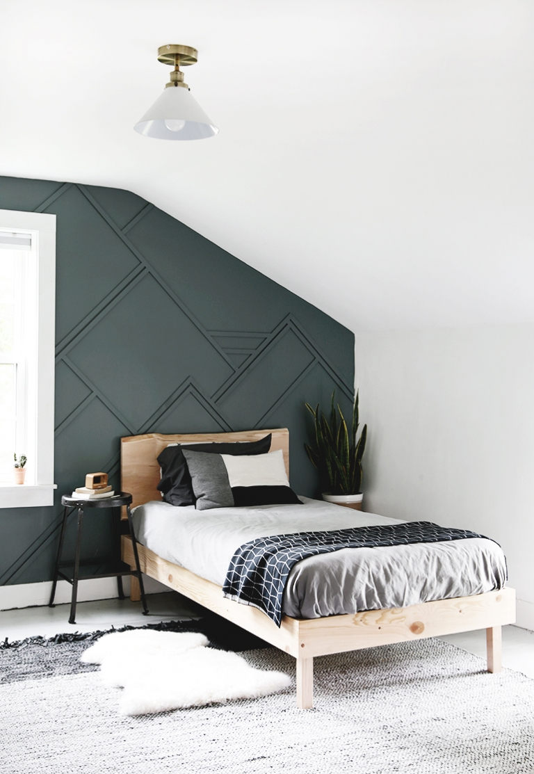Diy Wood Trim Accent Wall
