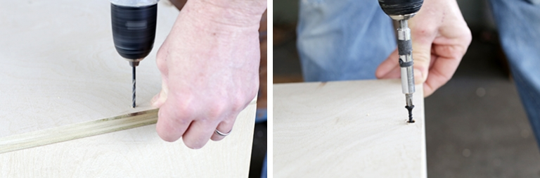 how to cut plywood square