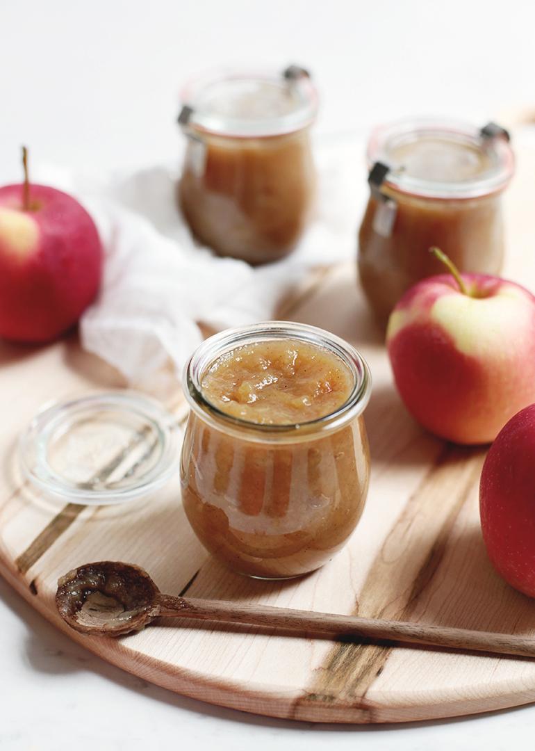 Homemade Applesauce @themerrythought