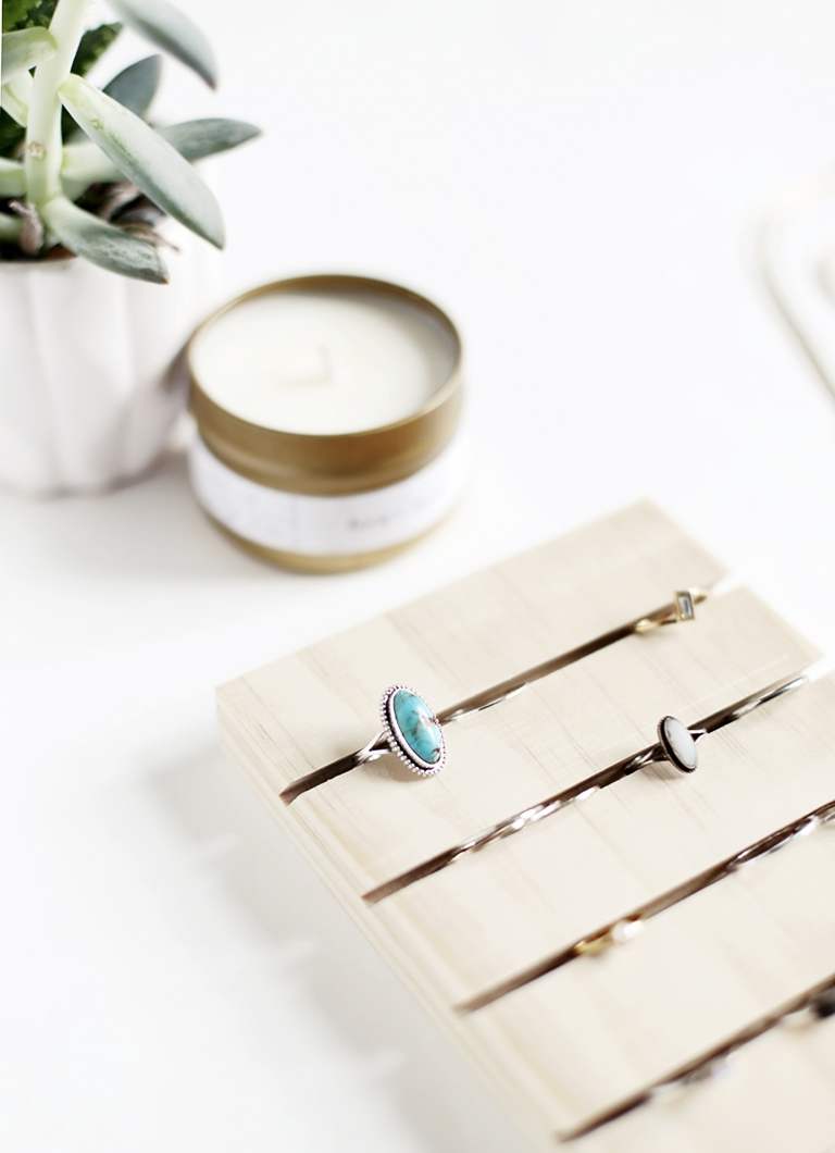 Diy Ring Display The Merrythought