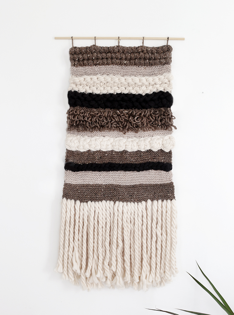 Diy Knit Crochet Wall Hanging The Merrythought