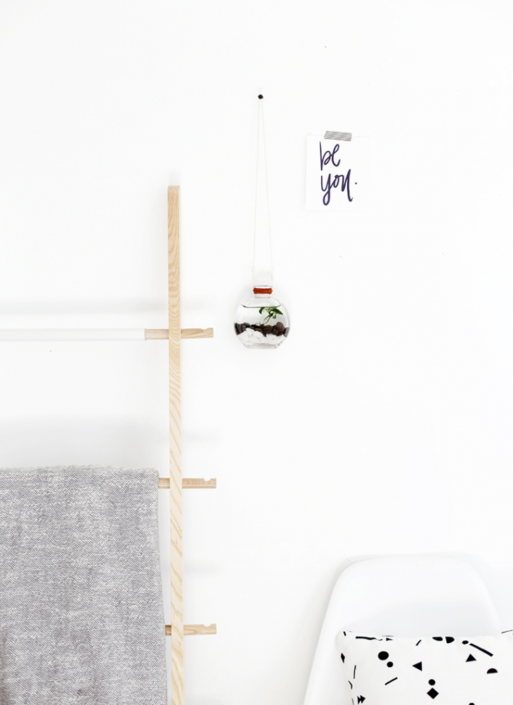 DIY Hanging Water Garden @themerrythought