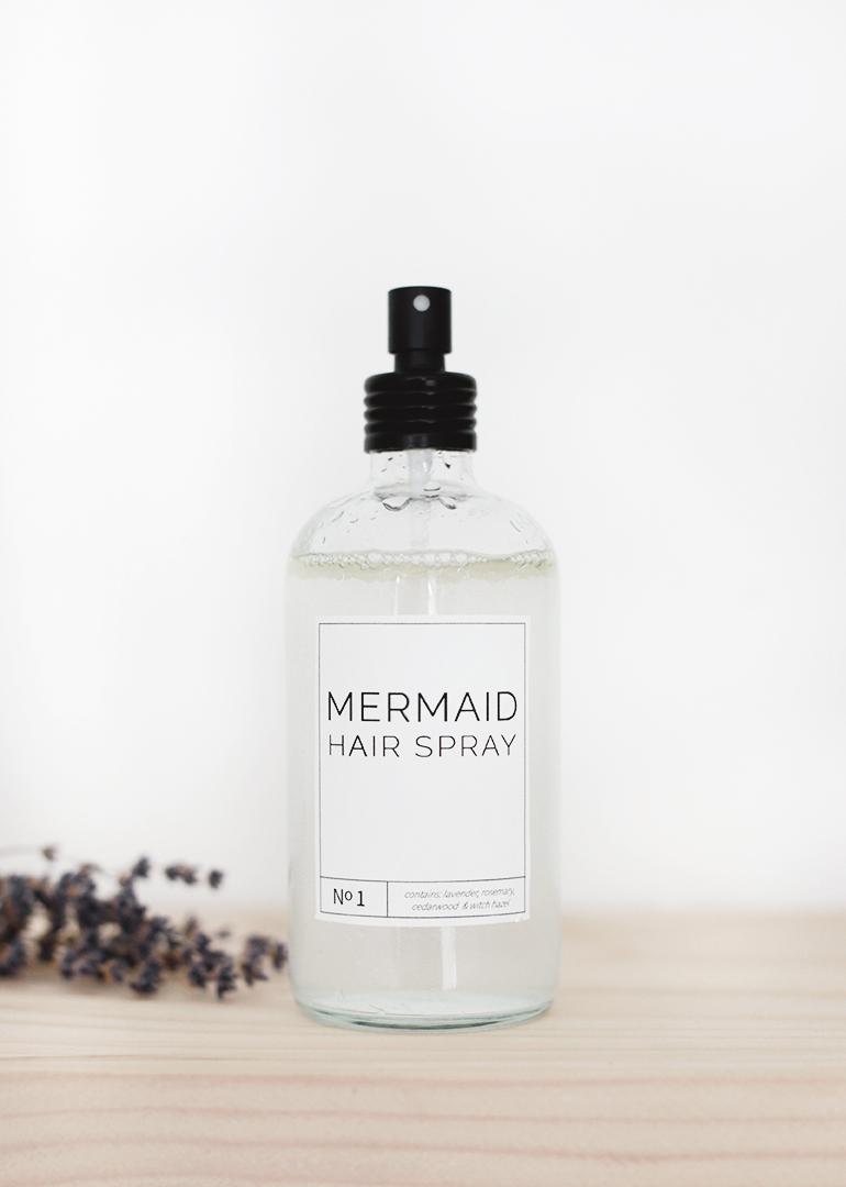 Mermaid Hair Spray @themerrythought