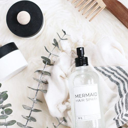 Mermaid Hair Spray @themerrythought