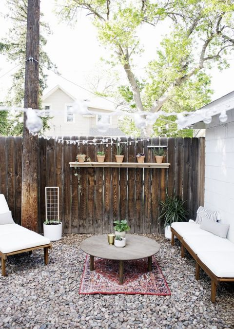 Small Outdoor Space Makeover