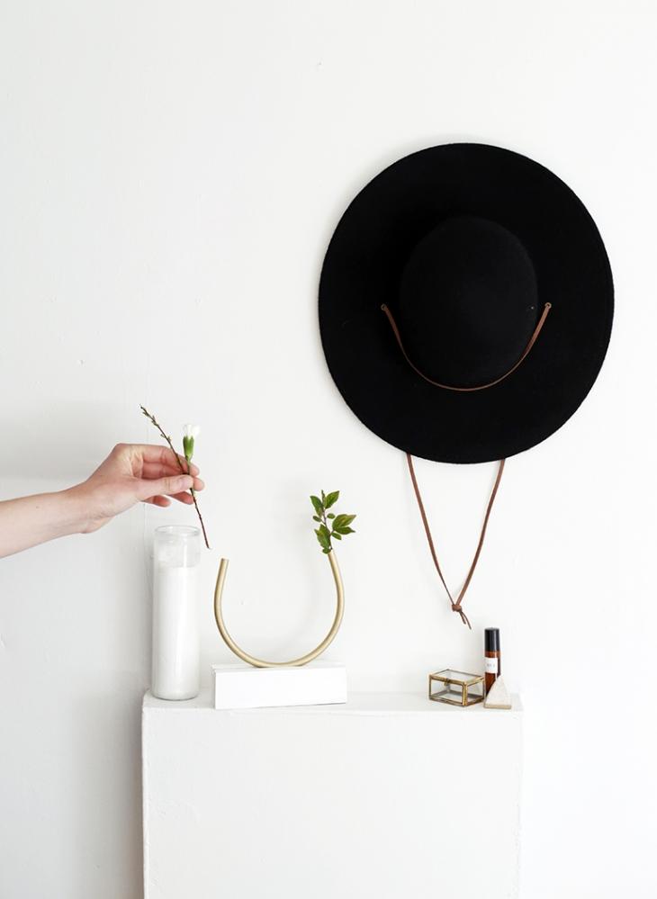 DIY Brass Bud Vase @themerrythought