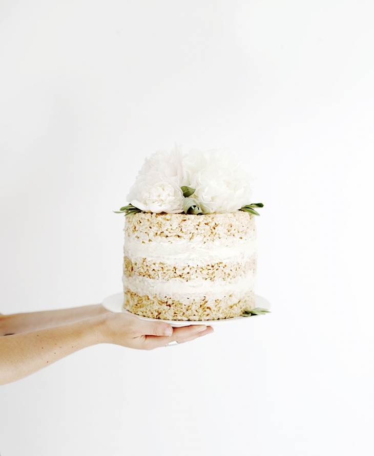 Rice Krispie Cake @themerrythought
