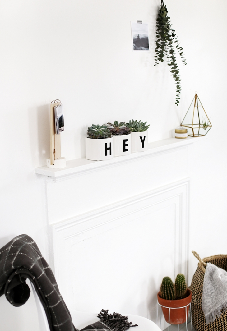 DIY Hey Planter @themerrythought