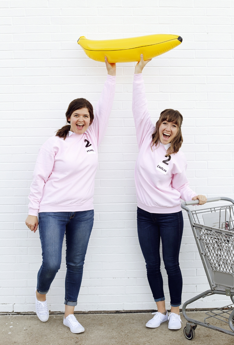 DIY Supermarket Sweep Costume - The Merrythought