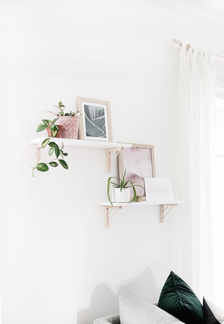 Diy Modern Wood Shelf Brackets