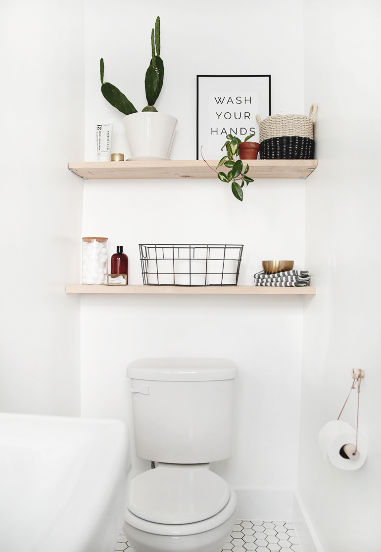 Small Modern Vintage Bathroom The Merrythought