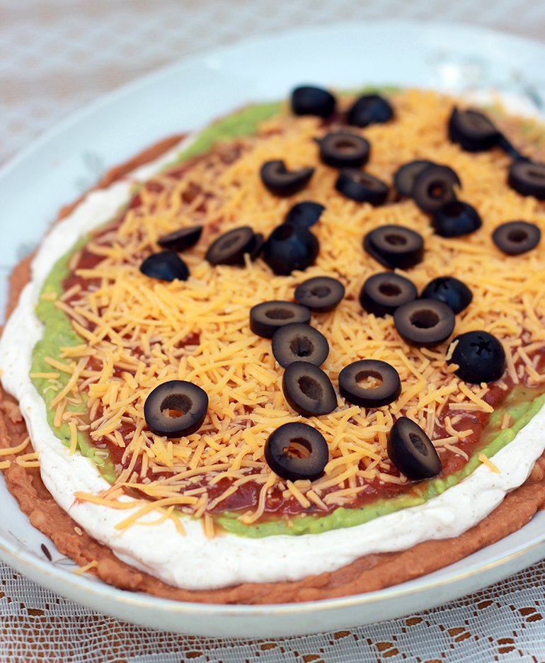 6 Layer Taco Dip | The Merrythought