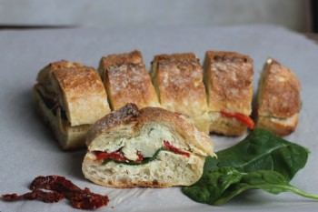 Antipasto Loaf Appetizer @themerrythought