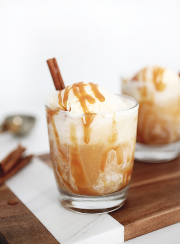 Apple Cider Floats @themerrythought