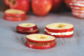 Apple Sandwiches @themerrythought