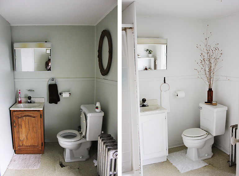 Bathroom Makeover Themerrythought