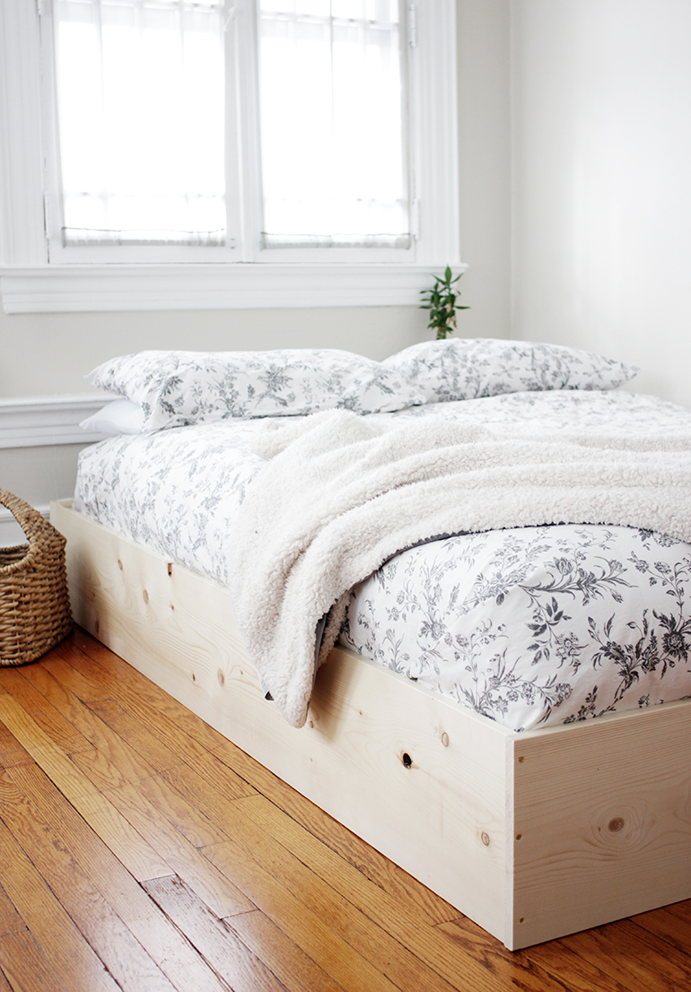 DIY Simple Bed Frame - The Merrythought