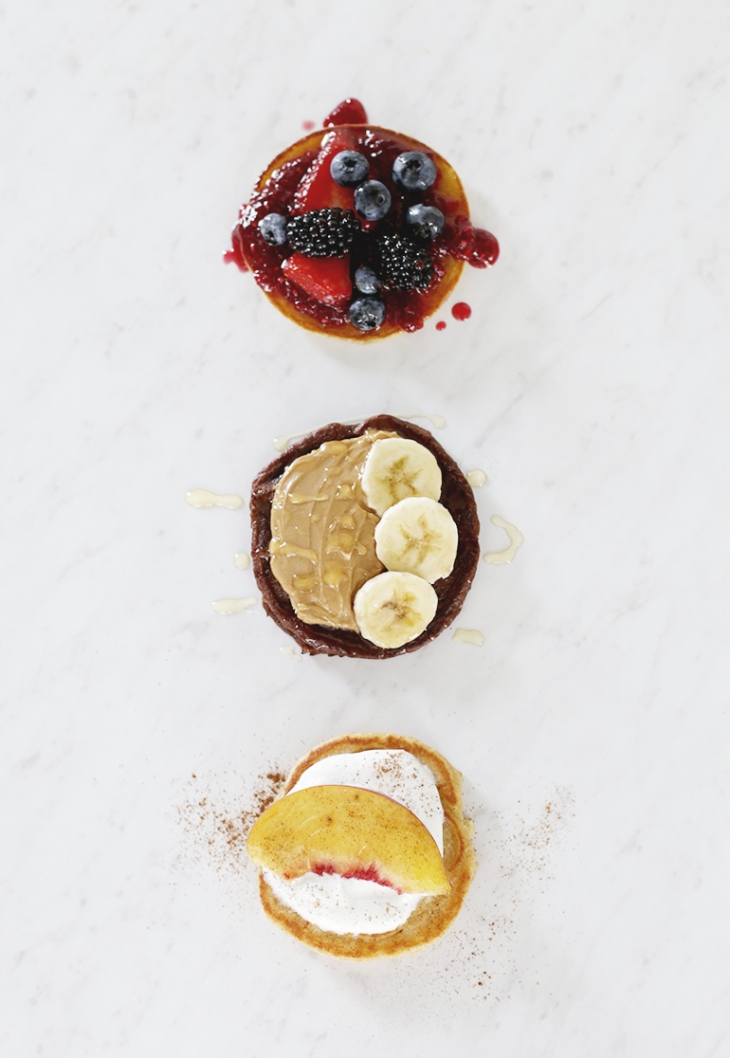 3 Easy Pancake Toppings @themerrythought