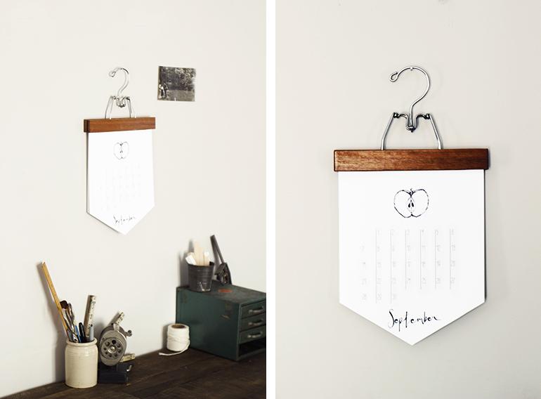DIY Calendar - The Merrythought