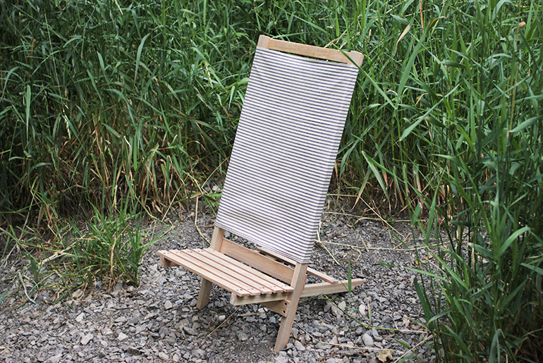 Diy Wooden Camp Beach Chair The Merrythought