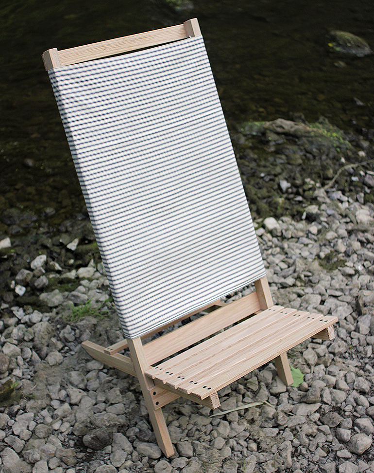 how to build a wooden beach chair
