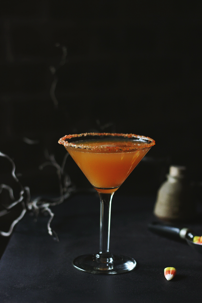 Candy Corn Mocktail @themerrythought