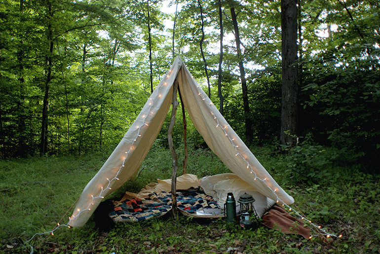 DIY Canvas Tent @themerrythought & DIY Canvas Tent » The Merrythought