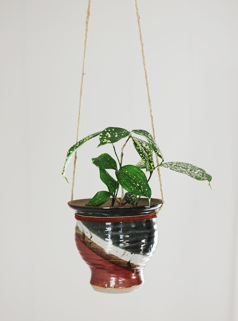 Diy Ceramic Planter The Merrythought