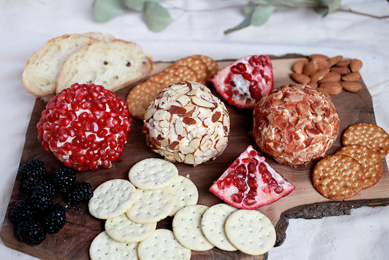 Cheese Ball - 3 Ways @themerrythought