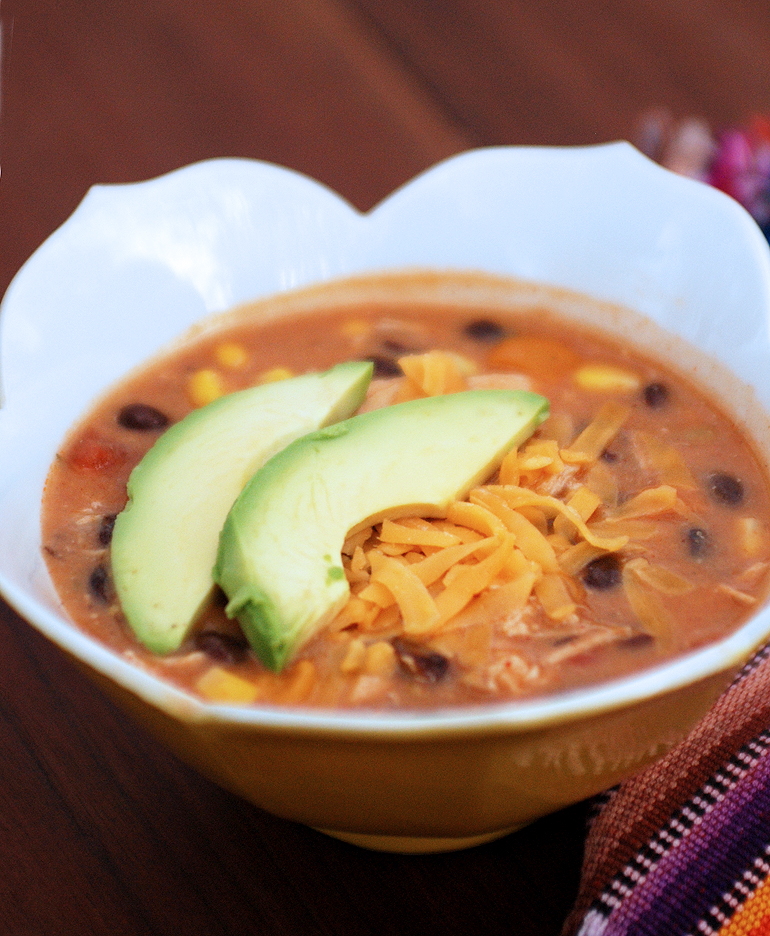 Chicken Enchilada Soup, by The Merrythought | The Wilson Buzz