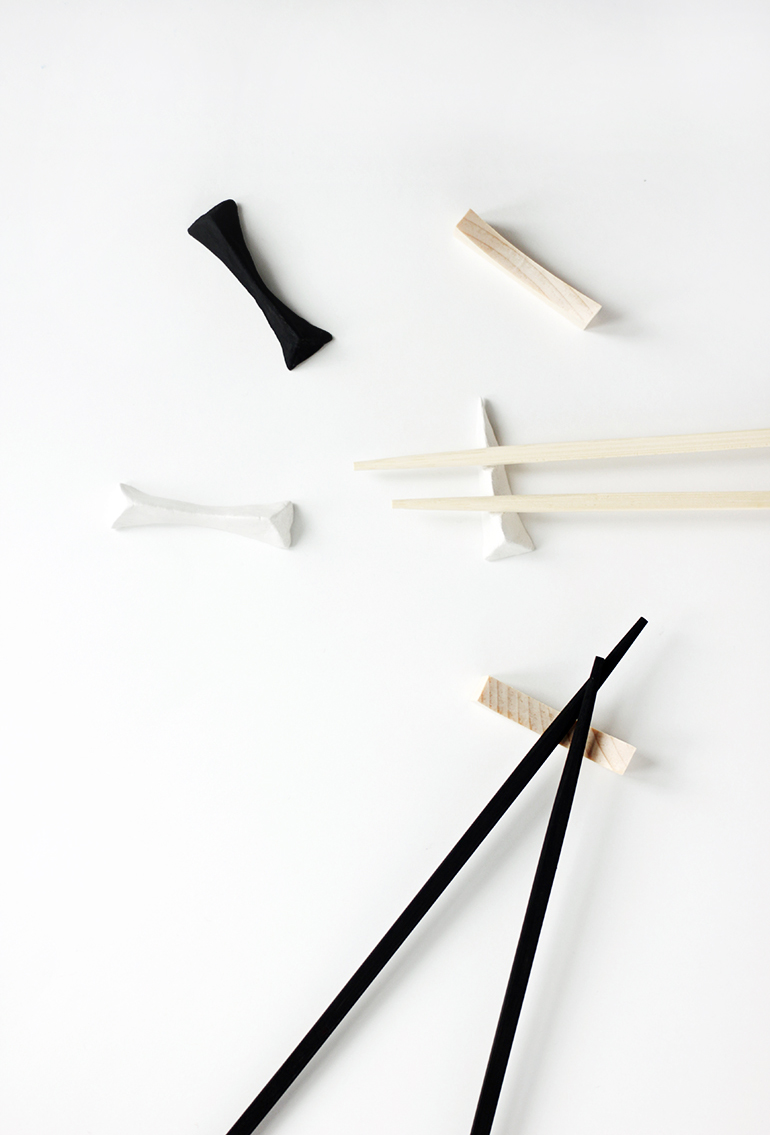 DIY Chopstick Rest - The Merrythought