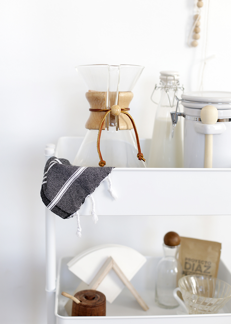 Coffee Station Cart @themerrythought
