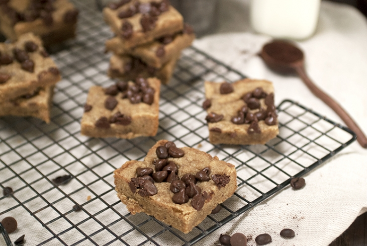 Coffee Toffee Bars @themerrythought