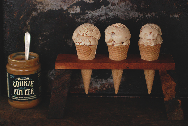 Cookie Butter Ice Cream @themerrythought