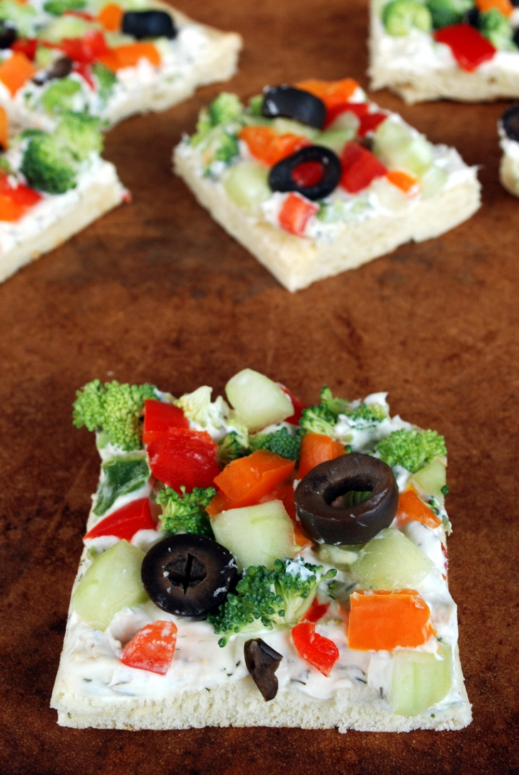 Cool Veggie Pizza