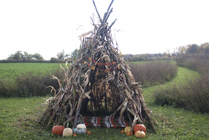 Cornstalk Teepee @themerrythought