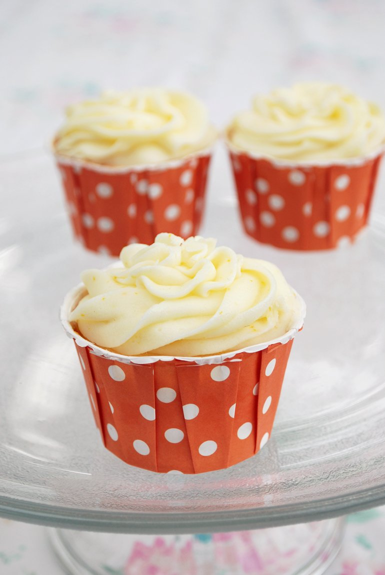 Creamsicle Cupcakes | The Merrythought