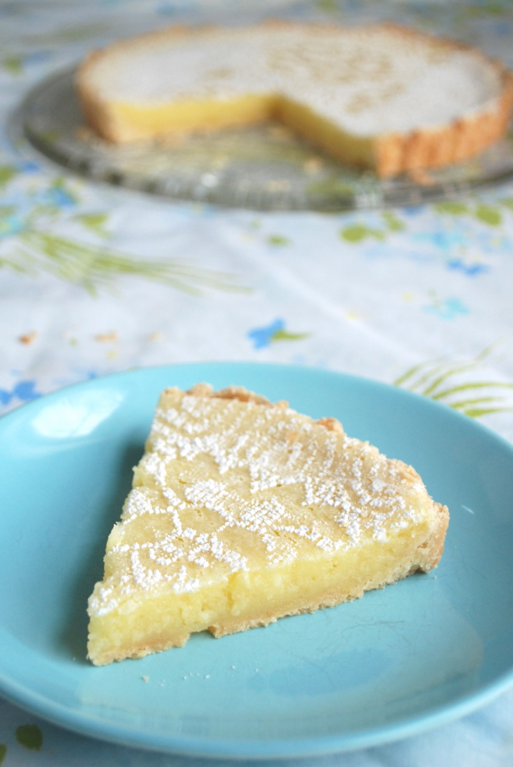 Creamy Lemon Tart // The Merrythought