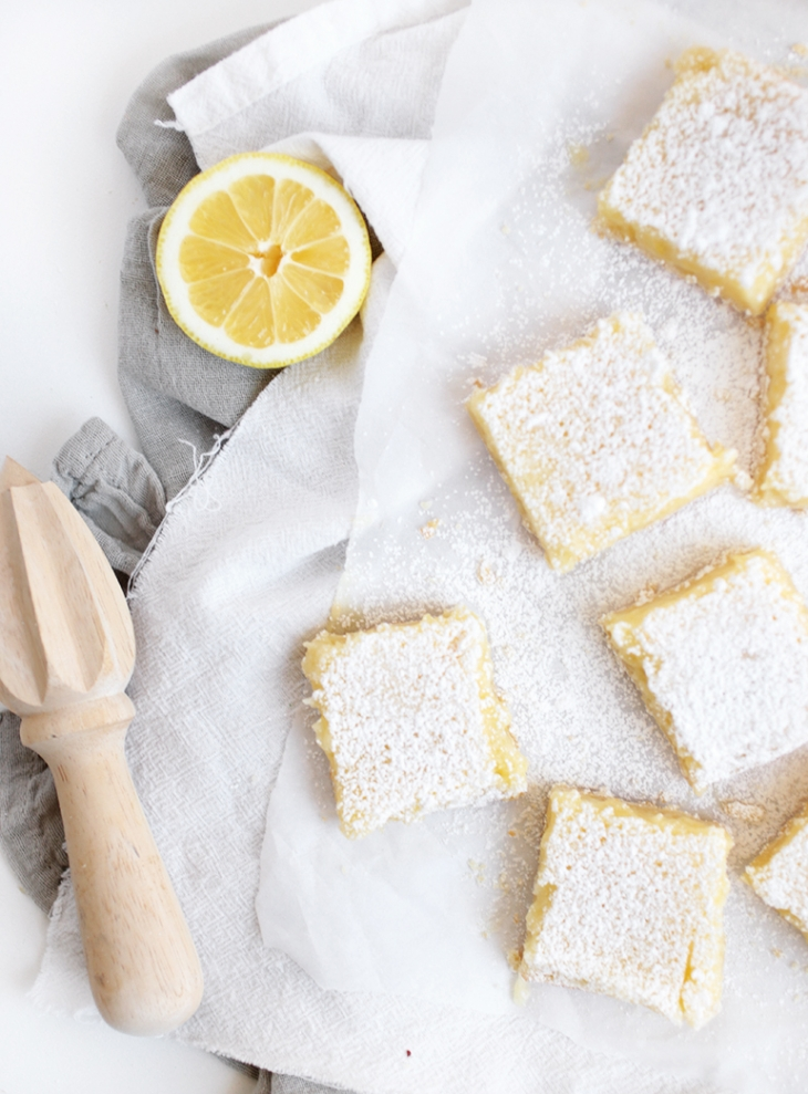 Creamy Lemon Bars @themerrythought