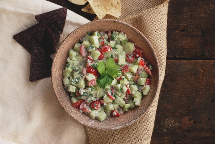 Cucumber Salsa @themerrythought