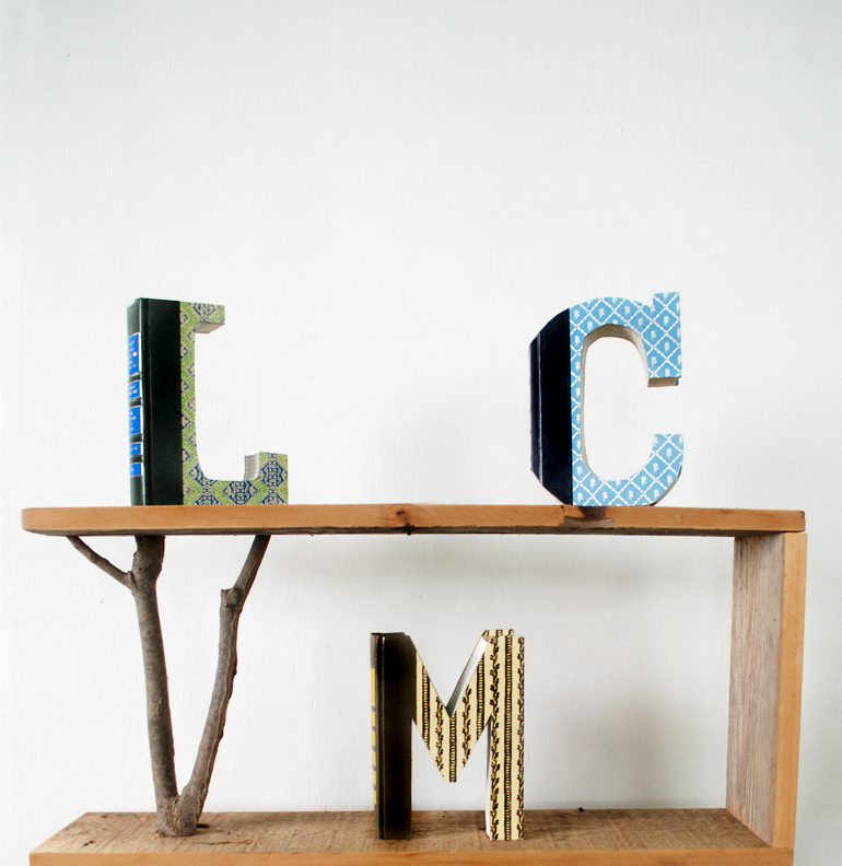 DIY Book Letters | The Merrythought