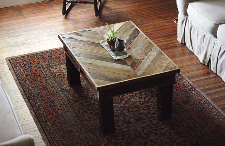 this was the table inspiration for our coffee table we