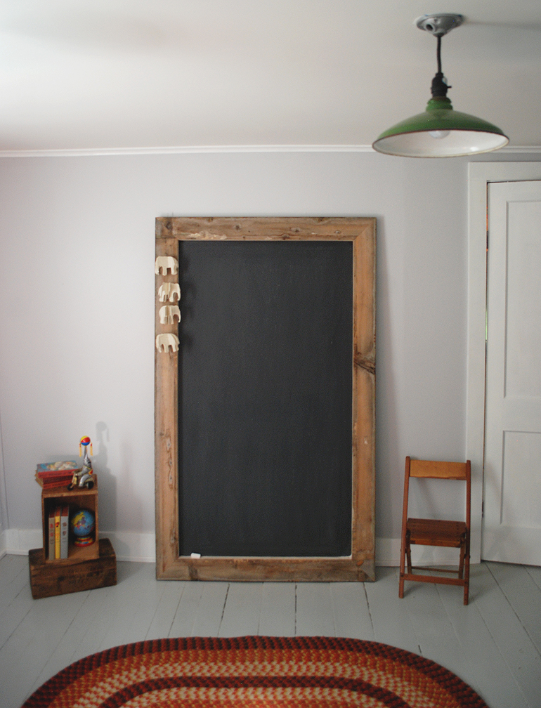 Diy Giant Chalkboard The Merrythought