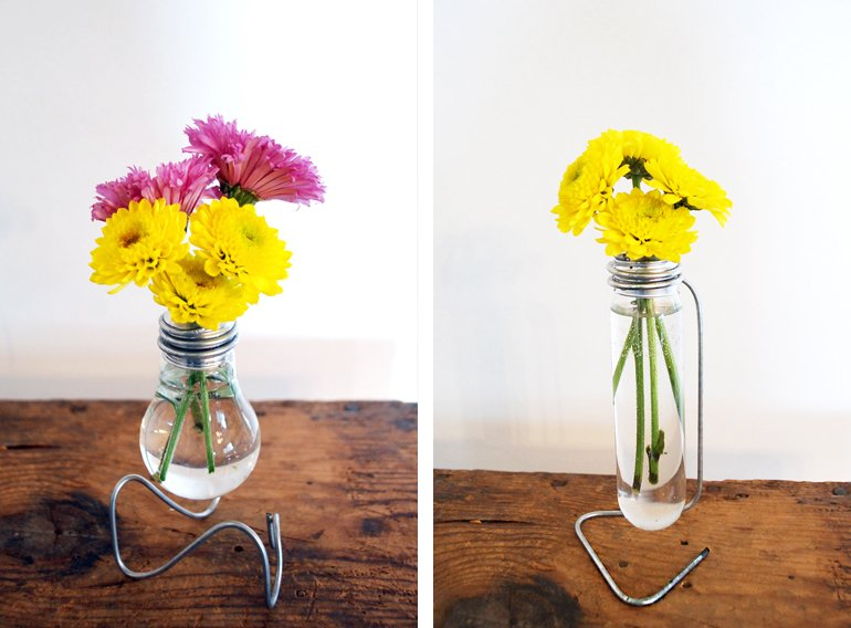 Diy Light Bulb Vase The Merrythought